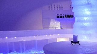 ice sauna spa laponie finlande photo lux